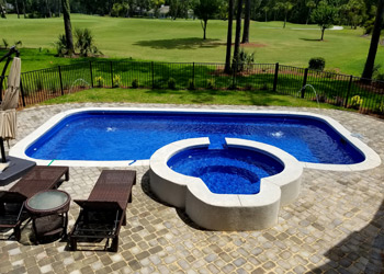 Fiberglass Pool sales in the greater Tallahassee FL region
